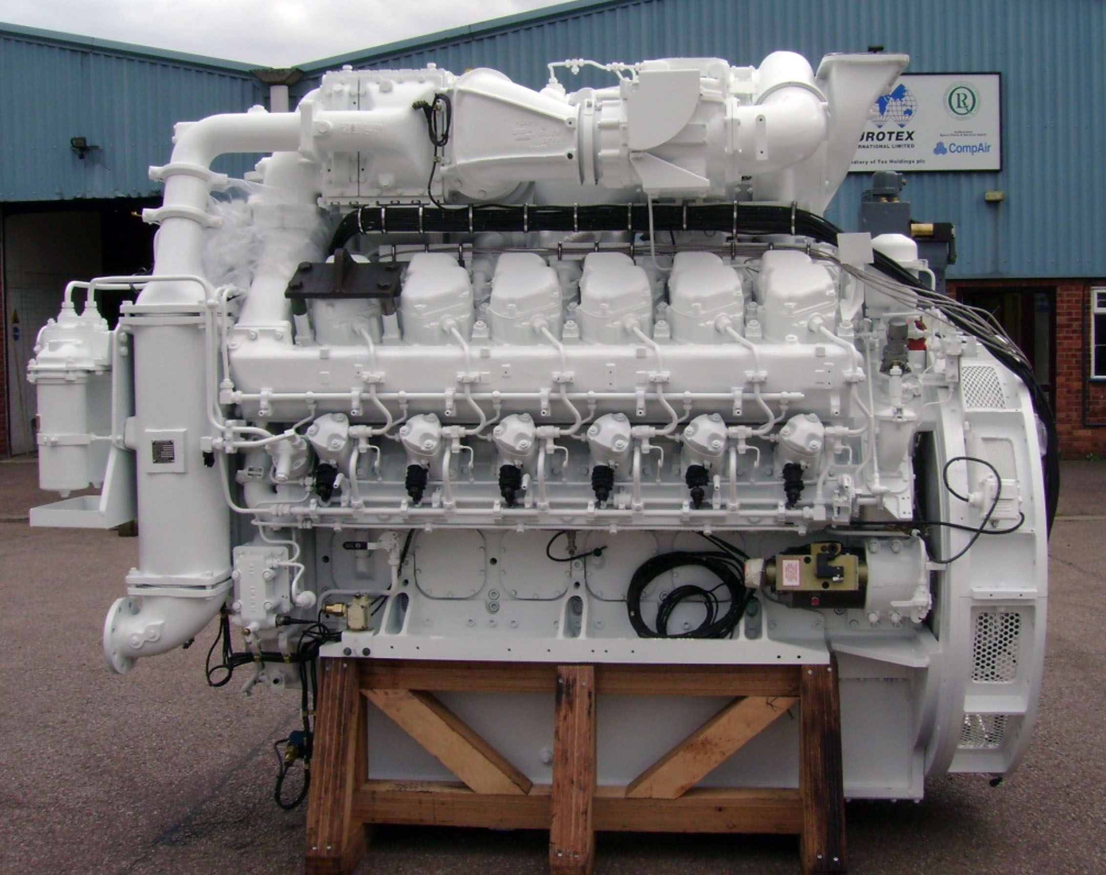 Eurotex International are the world-renowned engine refurbishment specialist, offering through-life support of marine, traction and land based diesel engines.