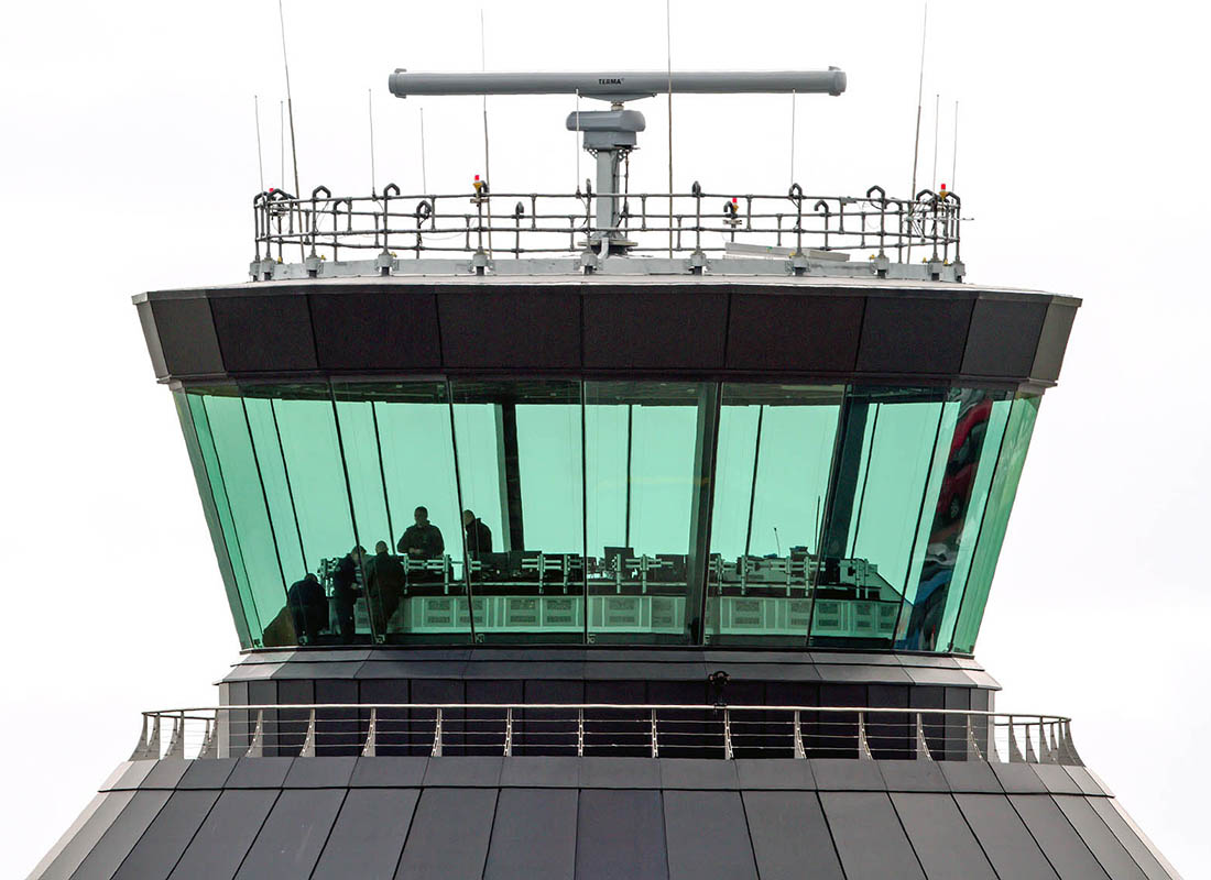 Air traffic control room glass installed by Tex ATC