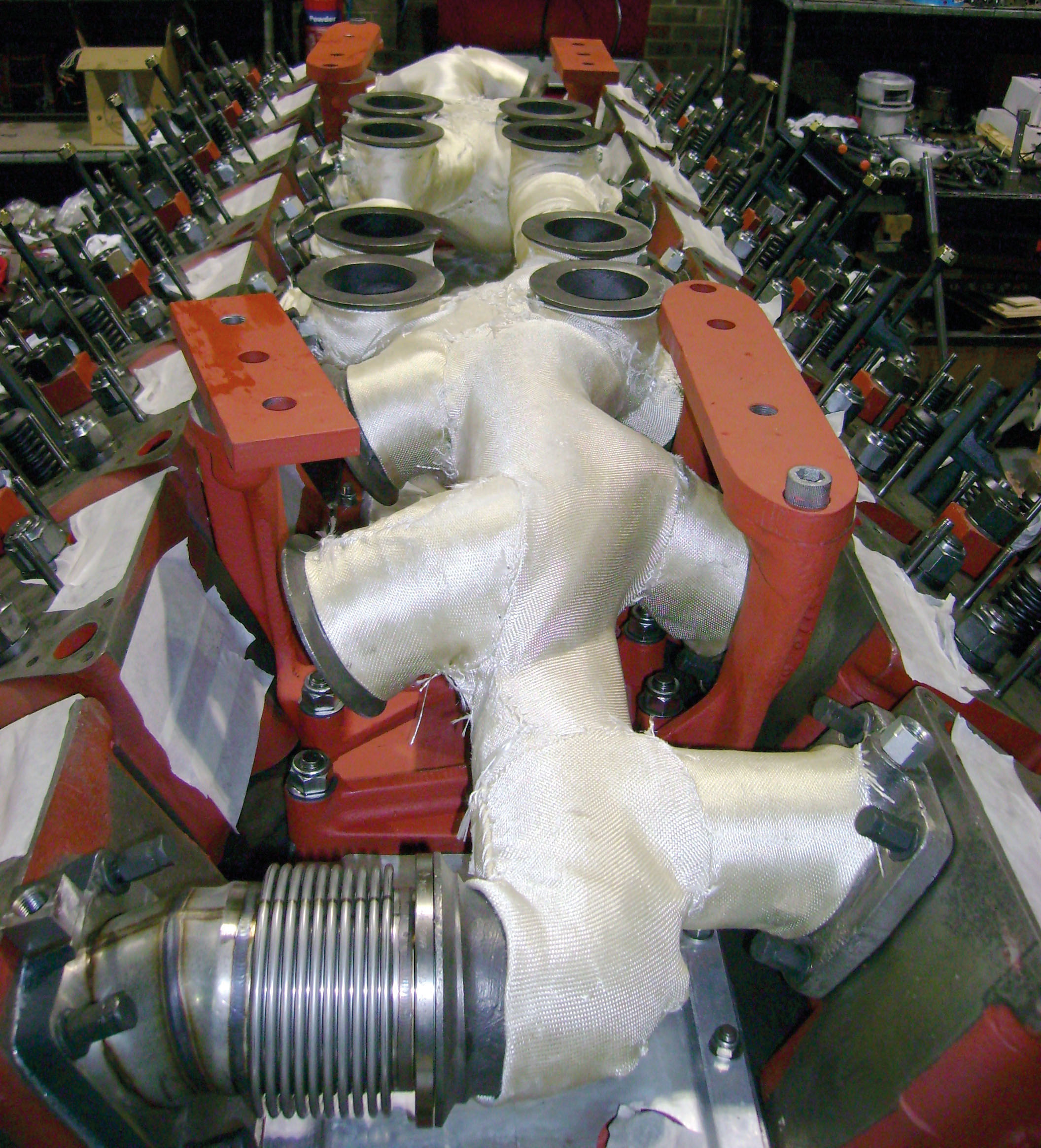 Engine refurbishment specialist and through-life support of marine, traction and land based diesel engines.