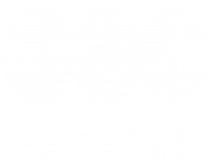 Eurotex logo. Engine refurbishment specialist and through-life support of marine, traction and land based diesel engines.